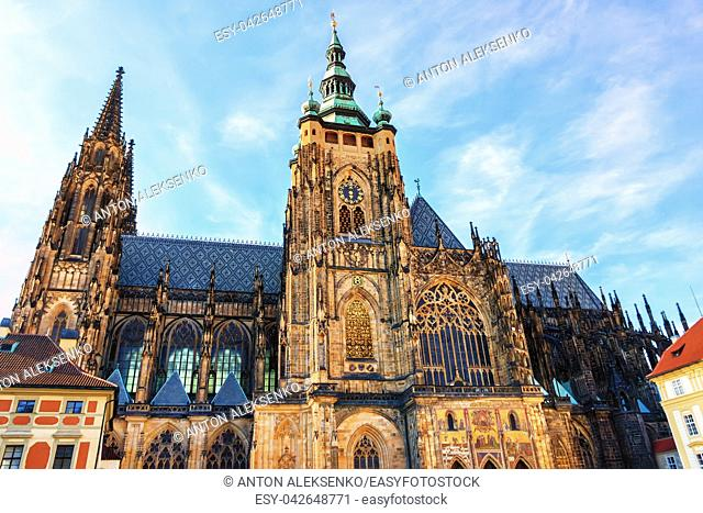 St Vitus Cathedral in Prague Castle, Gothic architecture