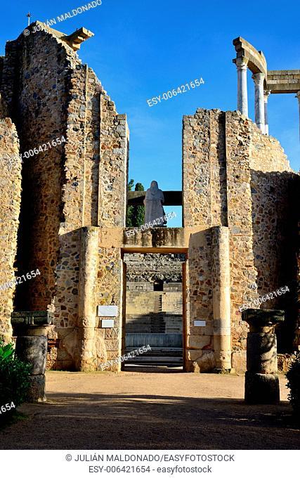 Roman theater in Mérida, Spain