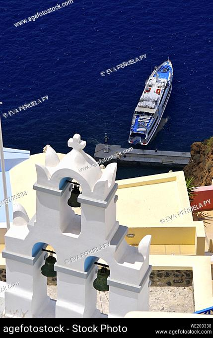 Greece - Cyclades Islands - Santorini - Oia....