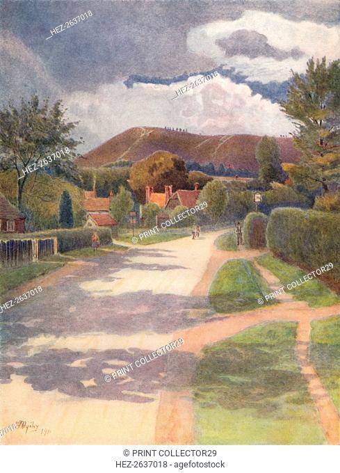 'Ewehurst Village', 1911, (1914). Artist: James S Ogilvy