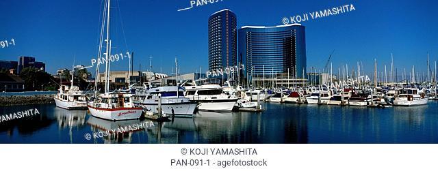 Enbacadero Marina Hotel, San Diego, USA, No Release