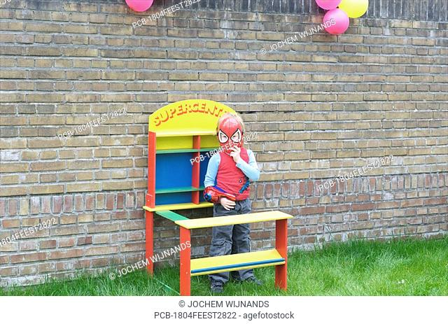 Netherlands, birthday party of four year old girl