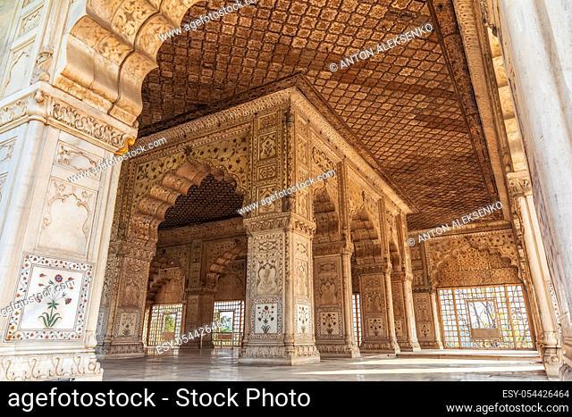 Khas Mahal in India, Red Fort of Delhi