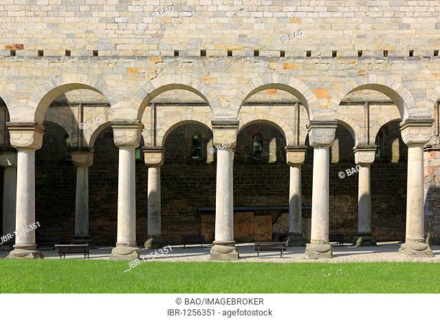 Former Benedictine monastery in Paulinzella in the Rottenbachtal valley, Thuringia, Germany