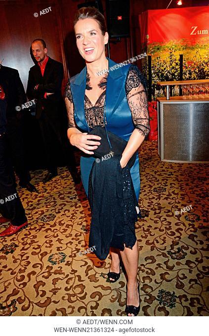 Katarina Witt at Goldene Sportpyramide at Hotel Adlon. Where: Berlin, Germany When: 16 May 2014 Credit: AEDT/WENN.com