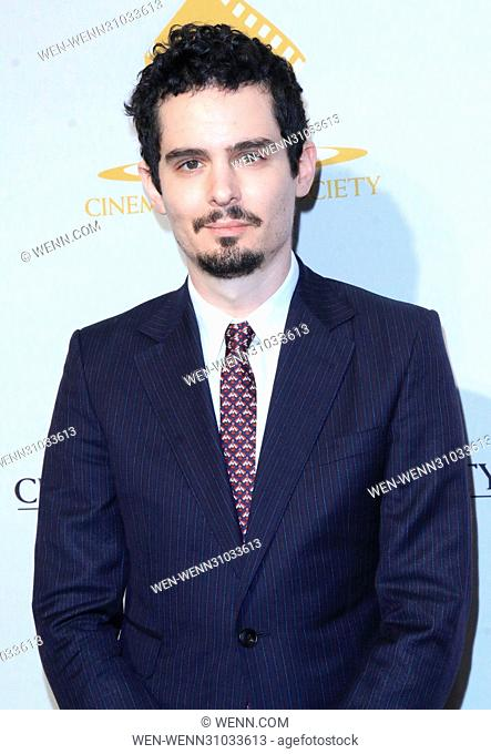53rd Annual Cinema Audio Society (CAS) Awards at Omni Los Angeles Hotel at California Plaza - Arrivals Featuring: Damien Chazelle Where: Los Angeles, California