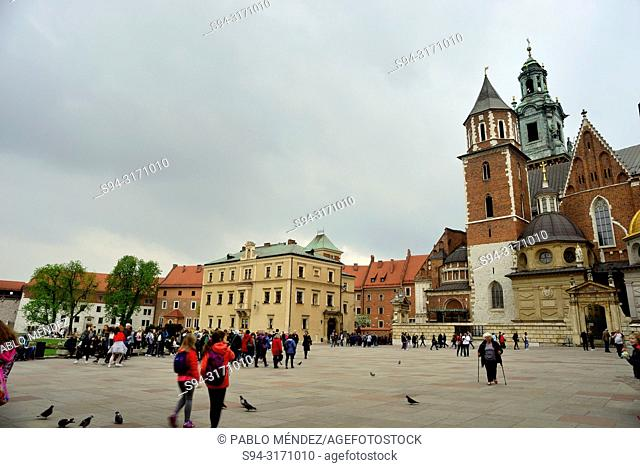 Wawel: Cathedral and square, Krakow, Poland