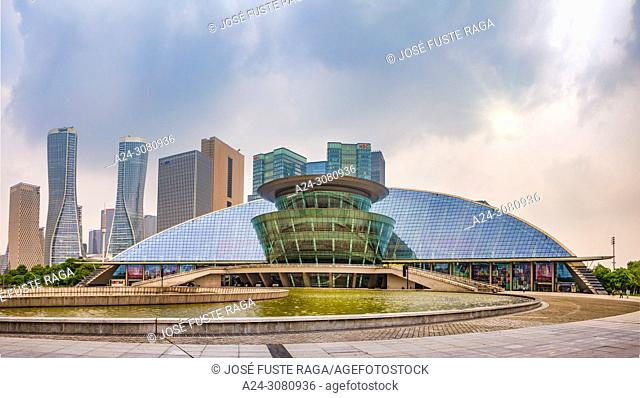 China, Hangzhou City, Jianggan District, Qianjiang New City, Hangzhou Grand Theater