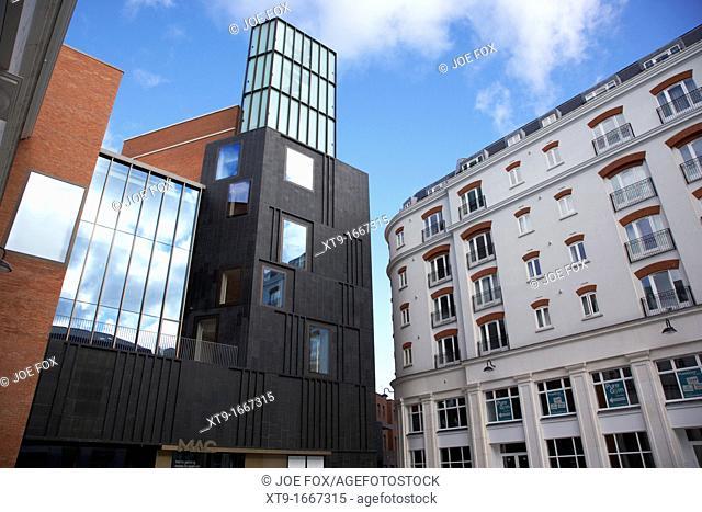 the new MAC Metropolitan arts centre in St Anne's Square Belfast Northern Ireland UK