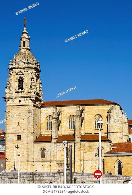 San Anton church. Bilbao. Biscay, Spain, Europe