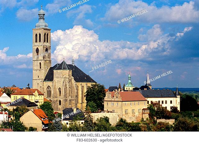 From the late 13th to late 16th centuries Kutna Hora was a rich silver mining town and many of its buildings reflect its former wealth