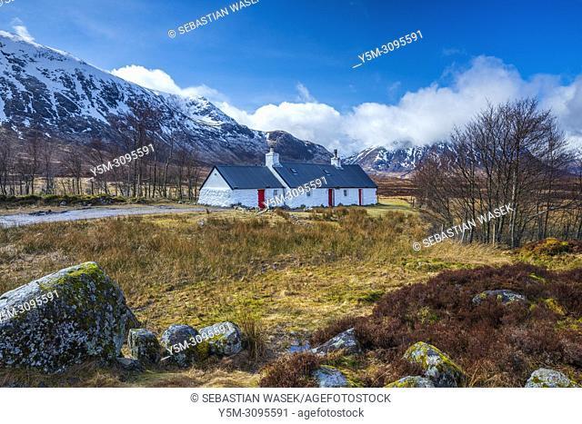 Blackrock Cottage, Glencoe, Argyll, Scotland, United Kingdom, Europe
