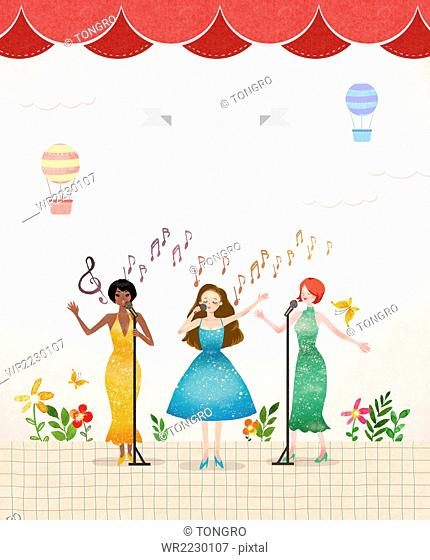 Concert illustration