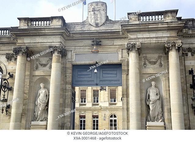 City Hall; Bordeaux; France
