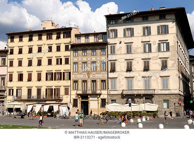 Piazza Santa Maria Novella, Florence, Tuscany, Italy, Europe