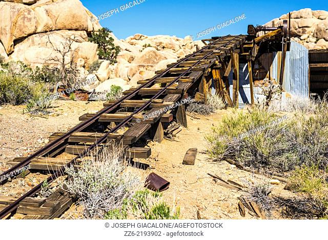 Wall Street Mill. Joshua Tree National Park, California, United States