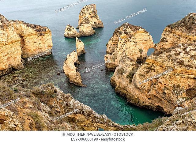 Ponta da Piedade (Mercy Point), Rock formations, Lagos, Algarve