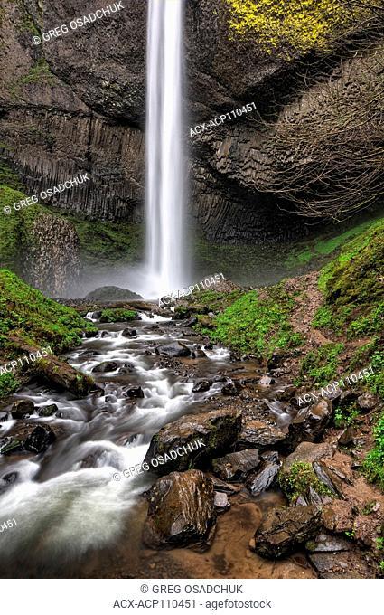 Latourel Falls, Columbia Gorge, Oregon, USA