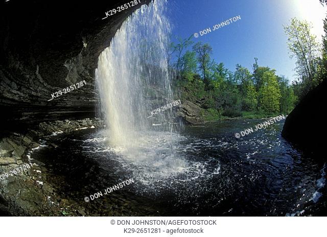 High Falls, Manitowaning, Manitoulin Island, Ontario, Canada