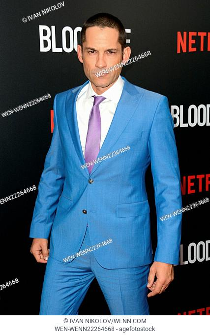 Premiere of the new Netflix original series 'Bloodline' at the SVA Theatre - Red Carpet Arrivals Featuring: Enrique Murciano Where: New York City, New York