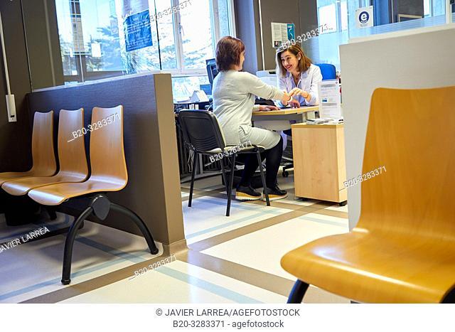 Admission Department, Hospital Donostia, San Sebastian, Gipuzkoa, Basque Country, Spain