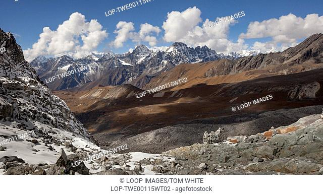 View from the Cho La Pass