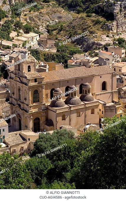 S Maria la Nova Church, Scicli, Province of Ragusa, Sicily, Italy, Europe UNESCO World Heritage Sites