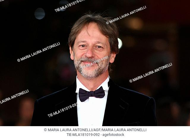 Deputy Mayor of Rome Luca Bergamo during the red carpet of film Motherless Brooklyn at the 14th Rome Film Festival, Rome, ITALY-17-10-2019
