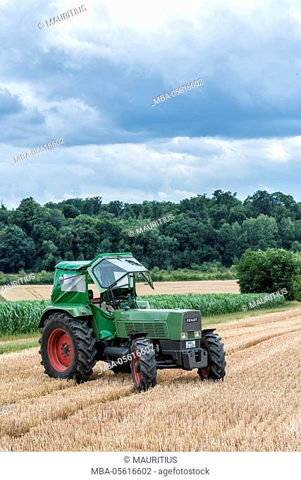 Karben, Hessen, Germany, Fendt Favorit 4S., year of manufacture 1967, 90 HP, cubic capacity 5.2 l