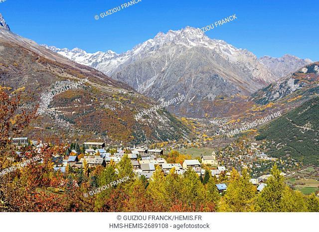 France, Hautes Alpes, Brianconnais region, Vallouise valley, Puy Saint Vincent, Les Prés