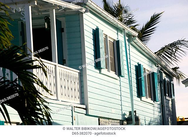 Bahamas, Abacos, 'Loyalist Cays , Elbow Cay', Elbow Cay, Hope Town: Beach House Detail