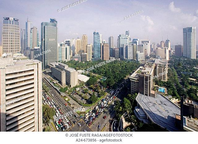 Nov. 2007. Philippines. Manila City. Makati District