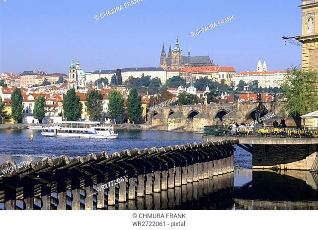 90900058, Czech Republic, Prague, Charles Bridge