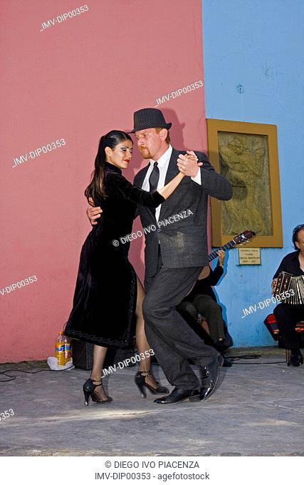 Tango, La Boca, Buenos Aires, Argentina