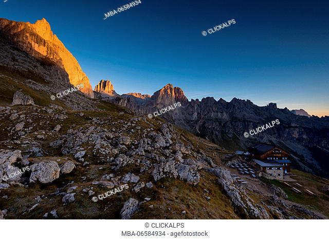 Trentino, Dolomites, Fassa Valley, Europe, Vael, Italy