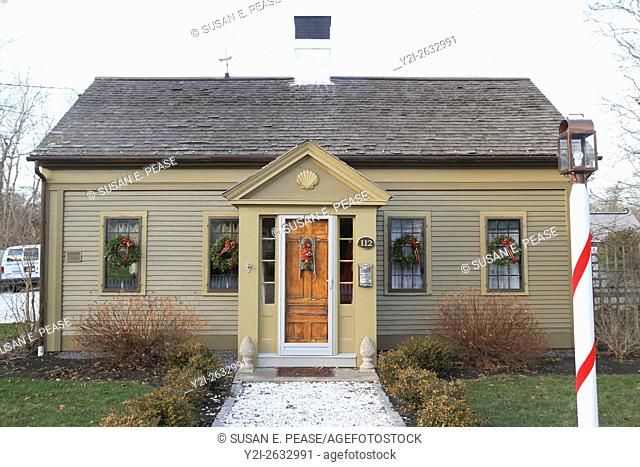 The Captain Baker House, South Yarmouth, Massachusetts, United States, North America. Editorial use only