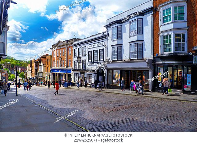 Street And High Street Stock Photos And Images Age Fotostock