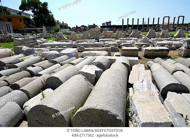 Agora of Smyrna. Ancient Classic Greece. Asia Minor. Turkey