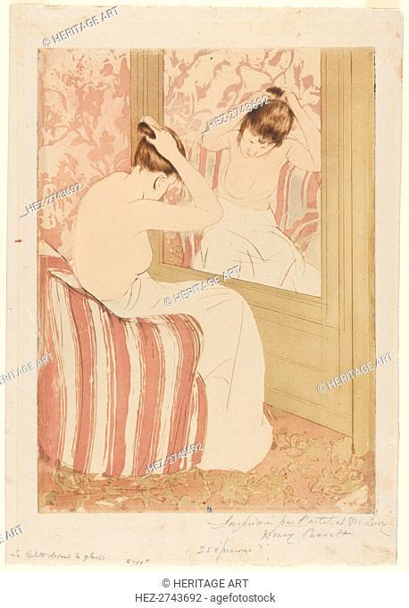The Coiffure, 1890-1891. Creator: Mary Cassatt (American, 1844-1926)