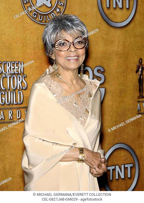Ruby Dee at arrivals for PRESS ROOM - 44th Annual Screen Actors Guild Awards (SAG), The Shrine Auditorium & Exposition Center, Los Angeles, CA, January 27, 2008