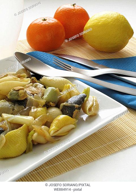 Shells, Pasta Siciliana