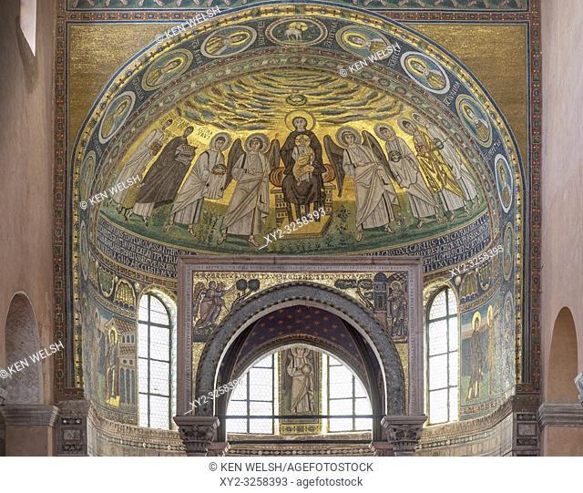 Euphrasian Basilica - Eufrazijeva bazilika in Croatian - or the Cathedral Basilica of the Assumption of Mary. Porec, Istria County, Croatia