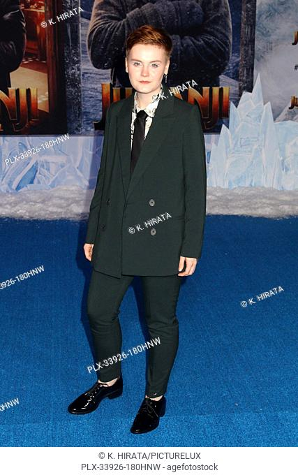 """Morgan Turner 12/09/2019 """"""""Jumanji: The Next Level"""""""" Premiere held at the TCL Chinese Theatre in Hollywood, CA. Photo by K. Hirata / HNW / PictureLux"""