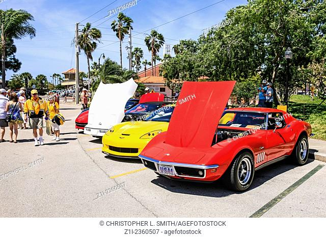 Venice Florida Chevy Corvette Owners Day