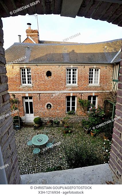 guesthouse Le Clos Sainte Anne, Eu, Seine-Maritime department, Haute-Normandie region, northern France, Europe