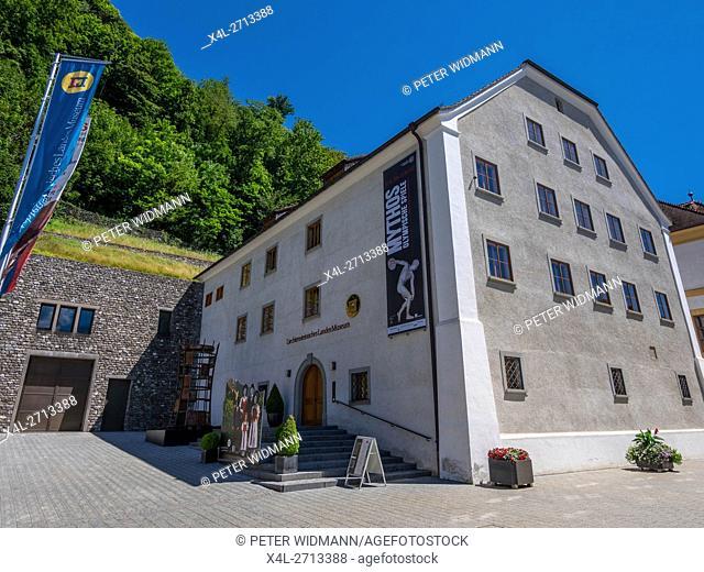National Museum, Vaduz, Principality of Liechtenstein, Europe