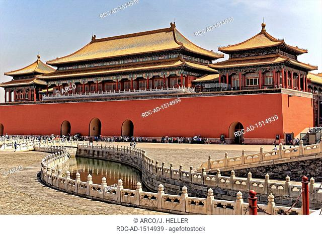 Emperor Palace, Gugong, Forbidden City, Beijing, China