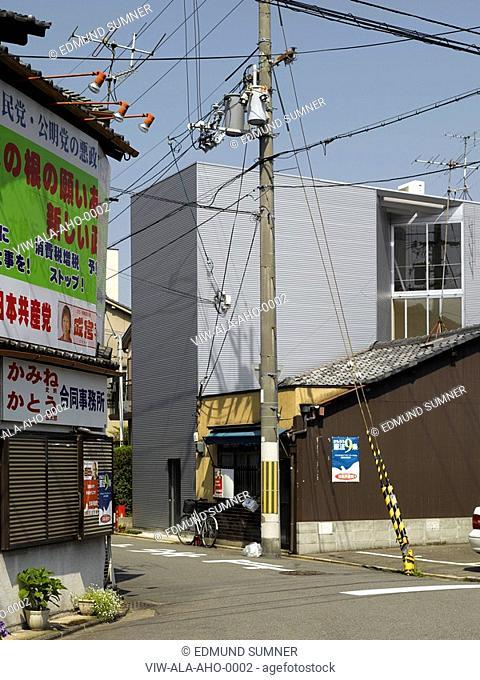 W-WINDOW HOUSE, JAPAN, Architect KYOTO