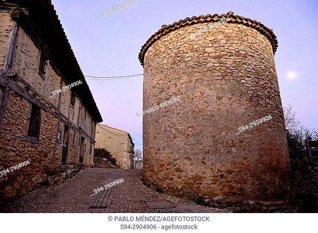 Big tower in the center of village, Calatañazor, Soria, Spain
