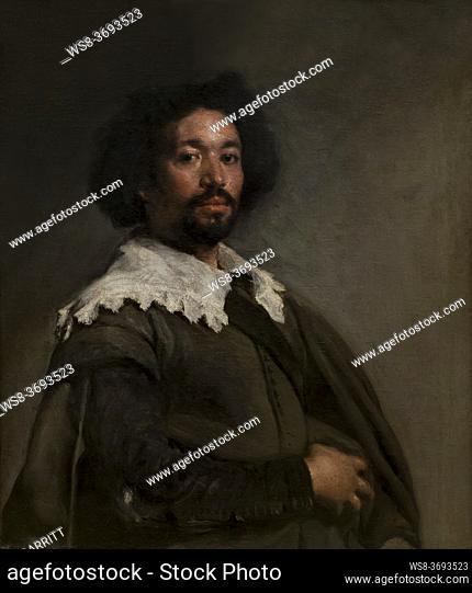 Juan de Pareja, Diego Velazquez, 1650, Metropolitan Museum of Art, Manhattan, New York City, USA, North America